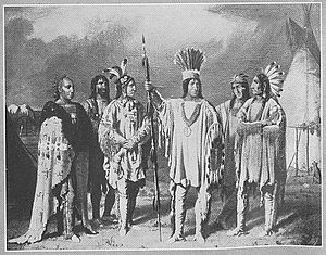 "Blackfoot Trail - ""Blackfoot Chiefs"" by Paul Kane (1873-1946)"
