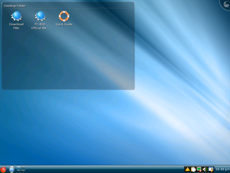 FreeBSD - PC-BSD version 7; the operating system is now known as TrueOS.
