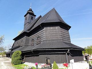 Bielowicko Village in Silesian, Poland