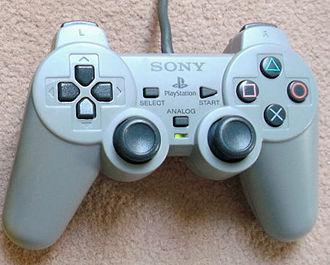"""Dual Analog Controller - A Dual Analog controller in """"Flightstick"""" mode."""