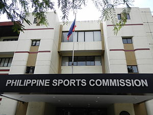 Philippine Sports Commission - Facade