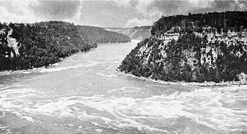PSM V49 D018 The niagara gorge below the whirlpool.jpg