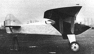 PZL P.1 - First prototype after modification