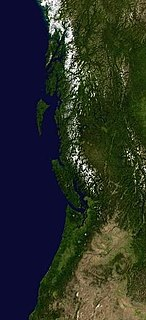 geology of Oregon and Washington (United States) and British Columbia (Canada)
