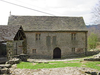Grindleford - The chapel and remains of Padley Hall