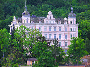 The Grand Budapest Hotel - Palace Bristol Hotel in Karlovy Vary (Carlsbad), Czech Republic