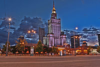 Palace of Culture and Science nightshot.JPG