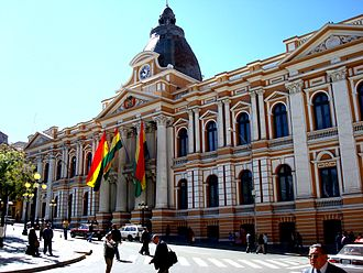 La Paz - Legislative Palace of Bolivia