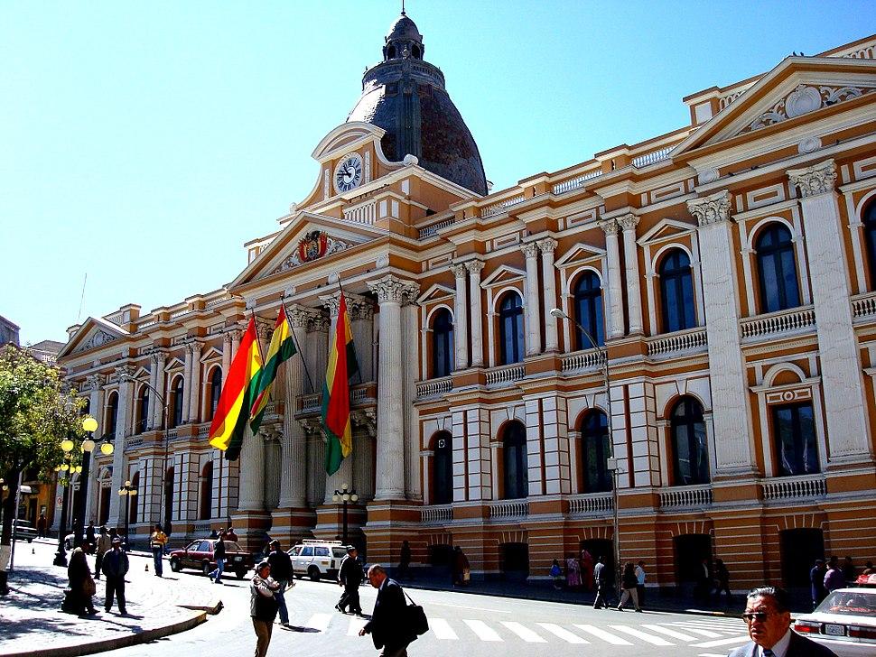 Palacio del Congreso Nacional La Paz Bolivia