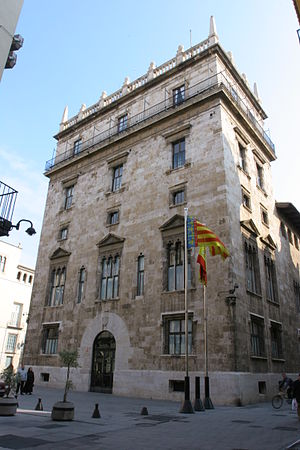 Generalitat Valenciana - The Palau de la Generalitat is the original 15th century building in the city of Valencia built for the Generalitat. Nowadays, it is the see of the Presidency of the Generalitat