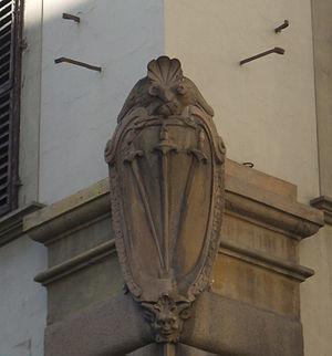 Palazzo Minerbetti - Minerbetti coat of arms
