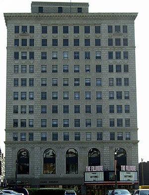 The Fillmore Detroit - Image: Palms Building Detroit Michigan