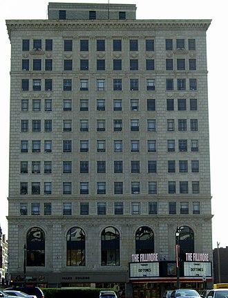 The Fillmore Detroit - Image: Palms Building Detroit Michigan