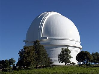 Palomar Mountain - View of the Palomar Observatory located near the High Point summit of the Palomar Mountain range.