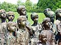 Památník Lidice , památník věnovaný obětovným dětem 08.jpg