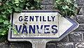 Panneau Michelin Direction Gentilly Vanves Rue Convention Kremlin Bicêtre 2.jpg
