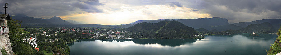Bled, panorama