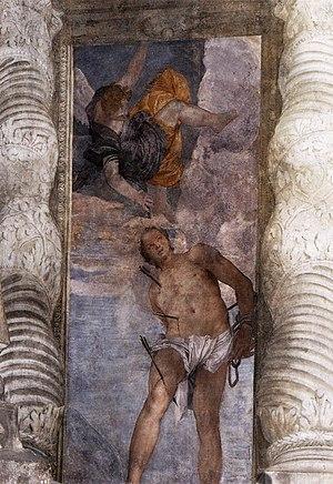 San Sebastiano, Venice - Image: Paolo Veronese St Sebastian WGA24791