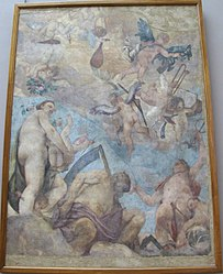 Paolo Veronese: The Olympians: Venus, Saturn and Mercury