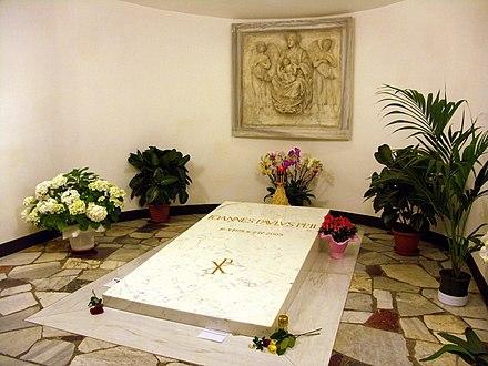 Johannes Paul Ii Grab