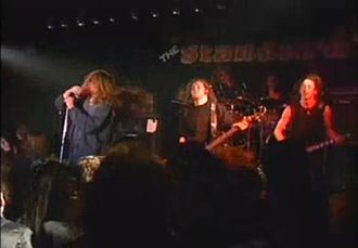 Paradise Lost (band) - Paradise Lost performing live, 1991.