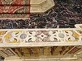 Parapetto che separa la crociera dal coro e pavimento del coro - Chiesa di San Domenico (Tocco da Casauria).jpg
