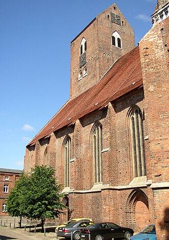 Parchim - Saint George's church