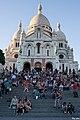 Paris 75018 Basilique du Sacré-Cœur south facade stairs 20160907 (03).jpg