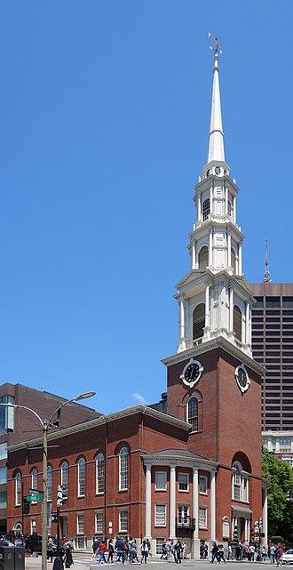 Park Street Church - Park Street Church, Boston, 2014