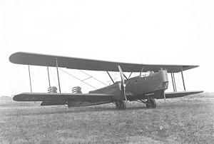 Huff-Daland XB-1 - Image: Parked Huff Daland XB 1