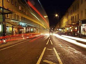 Park Street, Bristol - Image: Parkstreetnight