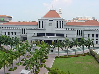 Parliament House, Singapore - Parliament House in 2002