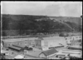 Part 1 of a 2-part panorama at the opening of the Dunedin Exhibition, 17 November 1925. ATLIB 292063.png