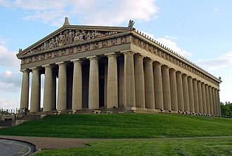 Nashville (film) - The Parthenon in Nashville, location of the climactic final scene.