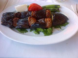Patlıcanlı kebap Kebab dish