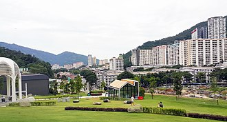 Paya Terubong - Residential projects now dot Paya Terubong's landscape, a far cry from its agricultural past.