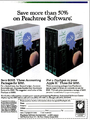Peachpak Ad, InfoWorld, November 29, 1982.png