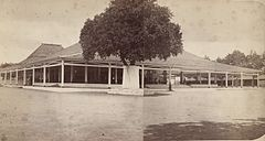 Pendopo of the Palace of the Mangkoenagoro of Surakarta WDL2898.jpg