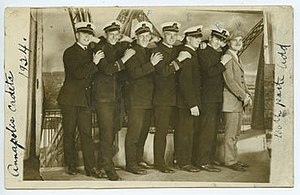Pennsylvania Nautical School - Image: Penna nautical annapolis cadets 1924 result