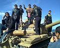 People on a tank in Benghazi2.jpg