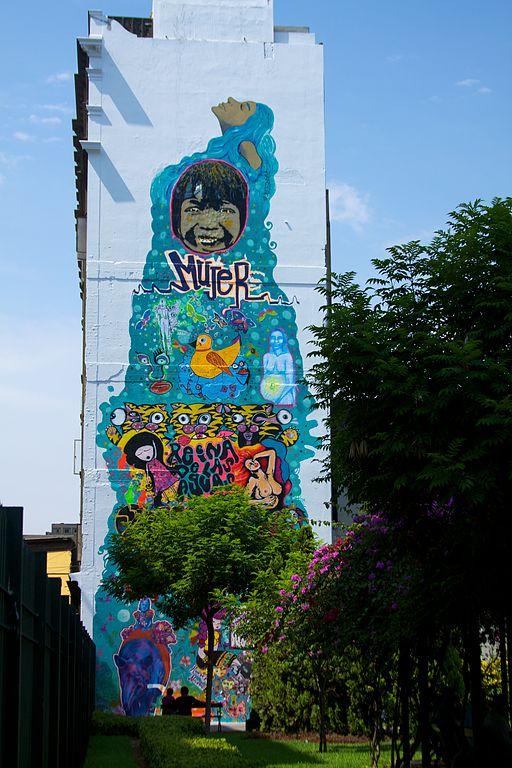 Peru - Lima 057 - street art in Lima Centro (7012574919)