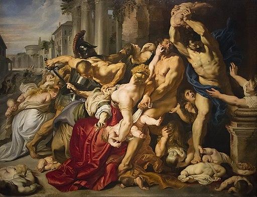Peter Paul Rubens (1577-1640) De kindermoord te Bethlehem - Rubenshuis Antwerpen 27-09-2018