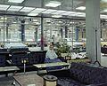 Petróleum utca 4., Merkur Személygépkocsi Értékesítő Vállalat, váróterem. Fortepan 99332.jpg
