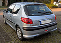 Peugeot 206 20090331 rear.JPG