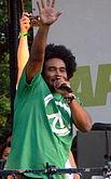 Da destra a sinistra, i rapper Pharoahe Monch e Ill Bill, due tra le maggiori influenze musicali di Clementino.
