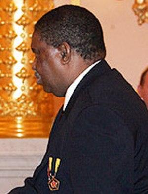 Phelekezela Mphoko - Image: Phelekezela Mphoko (cropped)