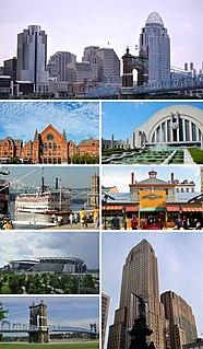 Cincinnati City in Ohio