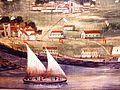 Pico Island - Russell & Purrington - A Whaling Voyage 'Round the World, 1848 - Museu dos Baleeiros (detalhe).JPG