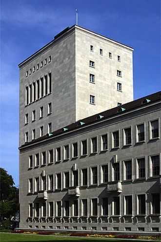 Winterthur Group - Old headquarters in Winterthur