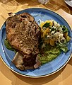 Pier 33 restaurant lamb dish, Mooloolaba Queensland.jpg